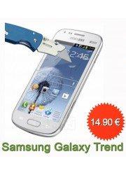 Protection en verre trempé pour Samsung Galaxy Trend