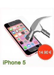 Protection en verre trempé pour Iphone 5/5S/5C