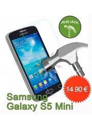 Protection en verre trempé pour Samsung Galaxy S5 Mini
