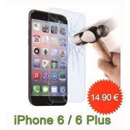 Protection en verre trempé pour iPhone 6