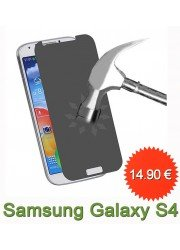 Samsung Galaxy S4 : Protection en verre trempé
