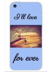 Coque I'll love for ever - motifs livres vintage
