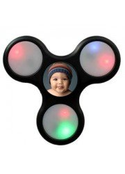 Hand Spinner LED lumineux personnalisé
