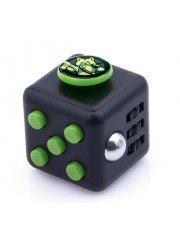 Cube spinner personnalisé noir