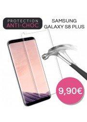 Protection en verre trempé pour Samsung Galaxy S8 Plus