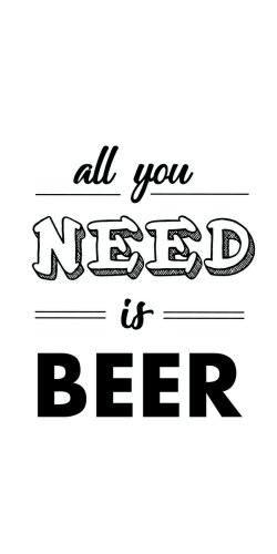 Coque All you Need Is Beer