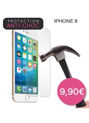 Protection en verre trempé pour iPhone 8