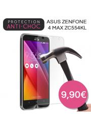 Protection en verre trempé pour Asus Zenfone 4 Max ZC554KL