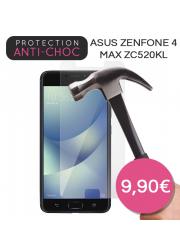 Protection en verre trempé pour Asus Zenfone 4 Max ZC520KL