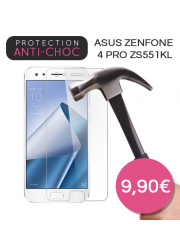 Protection en verre trempé pour Asus Zenfone 4 Pro ZS551KL