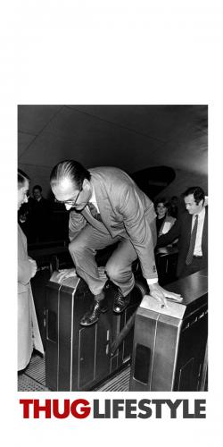 Coque Chirac Thug Life Style