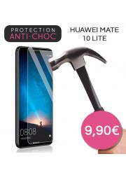 Protection en verre trempé pour Huawei Mate 10 Lite