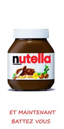 Coque Nutella et maintenant battez vous