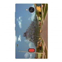 Silicone personnalisée Nokia Asha 503 avec photos