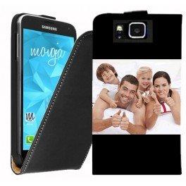 Housse portefeuille personnalisée pour Samsung Galaxy Alpha