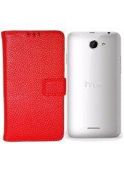 Housse portefeuille personnalisée pour HTC Desire 516