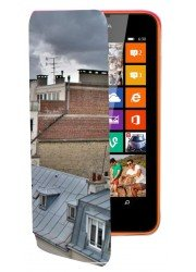 Etui portefeuille personnalisé pour Nokia Lumia 830