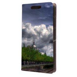 Etui portefeuille HTC Desire 510 personnalisé avec vos photos