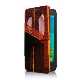 Etui portefeuille Alcatel One Touch Pop S7 personnalisé