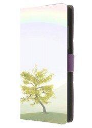 Etui portefeuille avec photos pour HTC desire 620