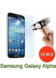 Protection en verre trempé pour Samsung Galaxy Alpha