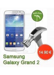 Protection en verre trempé pour Samsung Galaxy Grand 2