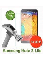 Protection en verre trempé pour Samsung Note 3 lite