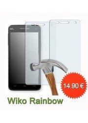 Protection en verre trempé pour Wiko Rainbow