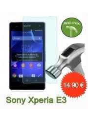 Protection en verre trempé pour Sony Xperia E3