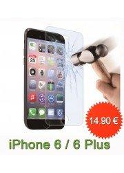 Protection en verre trempé pour iPhone 6 Plus