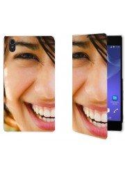 Etui à rabat Sony Xperia Z4 personnalisé avec photos