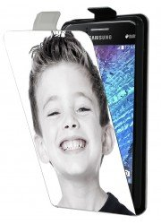 Housse à rabat personnalisée Samsung Galaxy J1