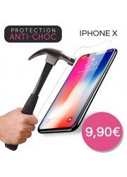 Protection en verre trempé iPhone X