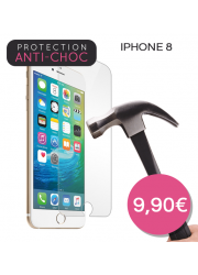 Protection en verre trempé pour iPhone 8