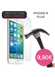 Protection en verre trempé pour iPhone 8 Plus