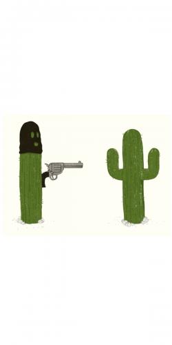 Coque Cactus Hauts les Mains !