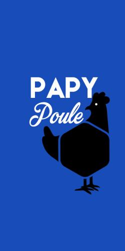 Coque Papy Poule