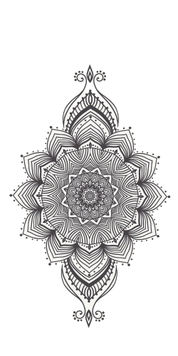 Coque Mandala Vertical
