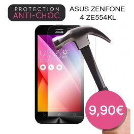 Protection en verre trempé pour Asus Zenfone 4 ZE554KL