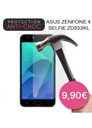 Protection en verre trempé pour Asus Zenfone 4 Selfie ZD553KL