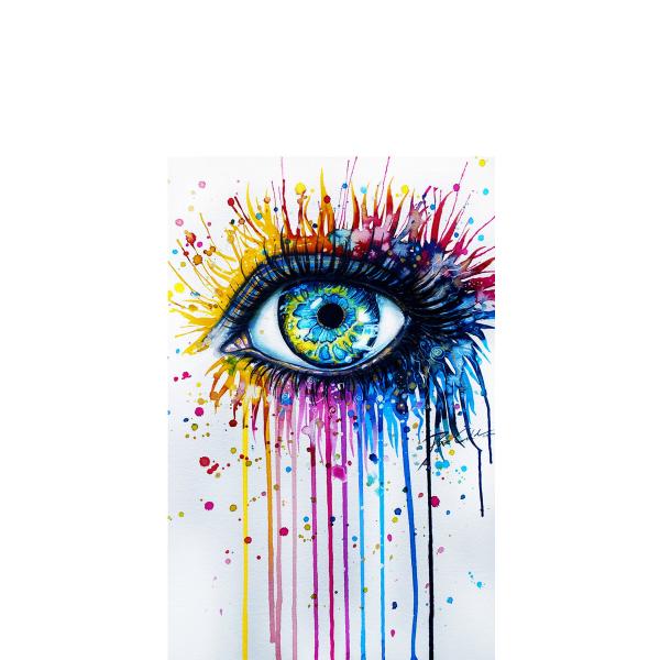 Peinture Dans L Oeil coque oeil peinture - coque-design