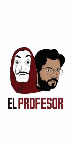 Coque Casa de Papel El Profesor