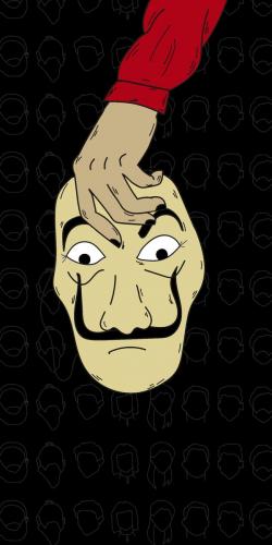 Coque Casa de Papel Masque