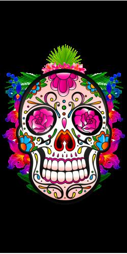 Coque Tête de Mort Mexicaine