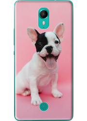 Coque silicone Wiko Tommy personnalisée