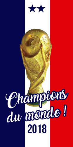 Coque France Coupe du Monde 2018