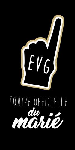 Coque Equipe officielle du marié EVG