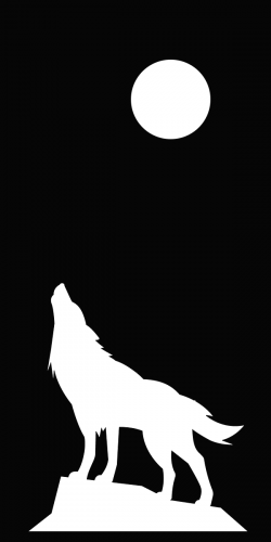 Coque Loup Pleine Lune