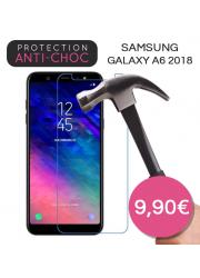 Protection en verre trempé pour Samsung Galaxy A6 2018