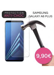 Protection en verre trempé pour Samsung Galaxy A6 Plus
